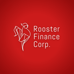 Rooster Finance Corp – Origami business logo free logo preview