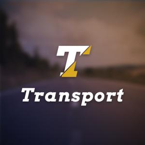 Transport – Logistics letter T logo vector free logo preview