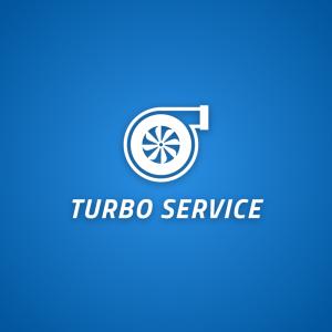 Turbo service – Car repair performance logo free logo preview