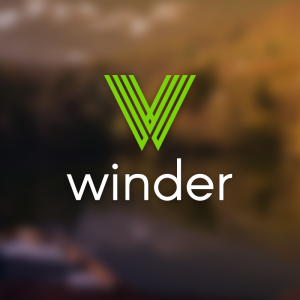 Winder – Free abstract letter W logo vector free logo preview