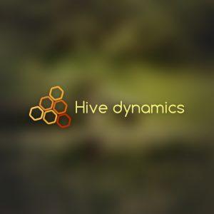 Hive dynamics – Free hex pattern honey logo free logo preview
