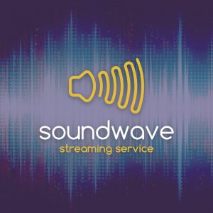Soundwave – Audio speaker music streaming logo free logo preview