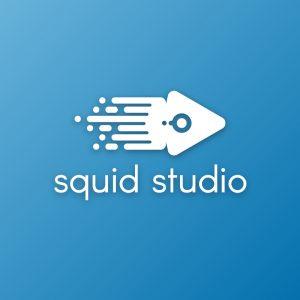 Squid studio – Octopus tentacle sea animal logo free logo preview