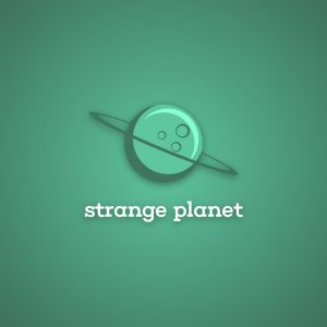Strange planet – Space travel astrology logo free logo preview