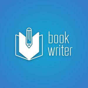Book Writer – Pen school education logo vector free logo preview