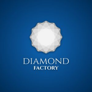 Diamond Factory – Free geometric jewelry logo free logo preview