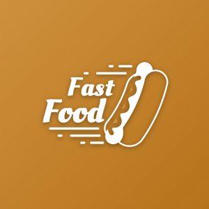 Fast Food – Free hot dog sausage bread logo free logo preview
