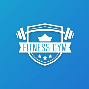 Fitness Gym – Workout fitness barbell logo free logo preview