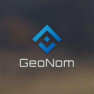 GeoNom – Free geometric business logo vector free logo preview