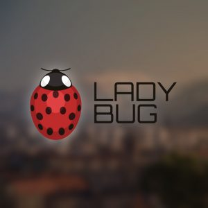 Lady Bug – Free insect beetle ladybird logo free logo preview