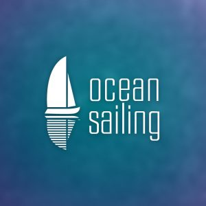 Ocean Sailing – Free sailboat yacht travel logo free logo preview