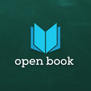 Open Book – Learning education library logo free logo preview