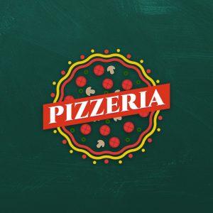 Pizzeria – Free food restaurant logo download free logo preview