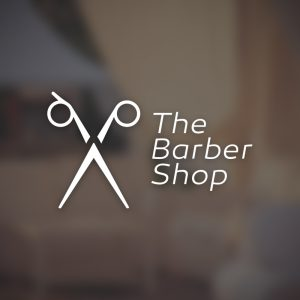 The Barber Shop – Free scissor logo vector free logo preview
