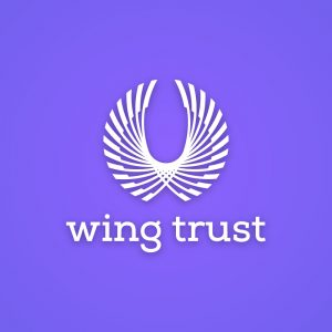 Wingtrust – Free abstract bird wings logo vectro free logo preview