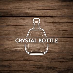 Crystal Bottle – Free glass decanter logo vector free logo preview