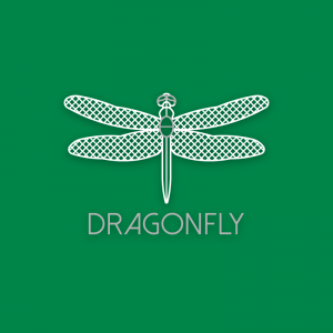 Dragonfly –  Free insect wing logo download free logo preview