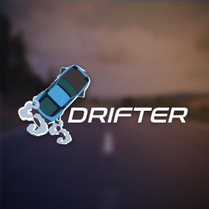 Drifter – Free race car slide smoke logo vector free logo preview