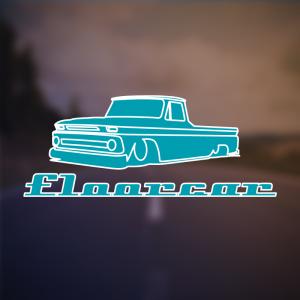 Floorcar – Free retro classic low car logo free logo preview