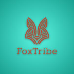 Fox Tribe – Free abstract animal head logo free logo preview