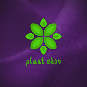 Plant Shop – Free floral nature logo vector free logo preview
