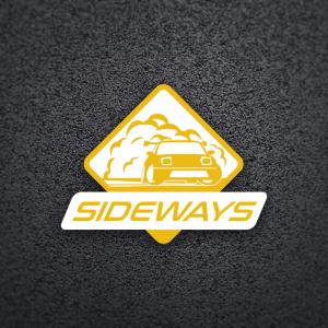 Sideways – Free drift car smoke logo vector free logo preview