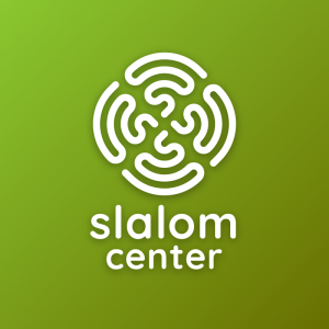 Slalom Center – Free abstract architecture logo free logo preview