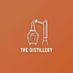 The Distillery – Alcohol still equipment logo free logo preview