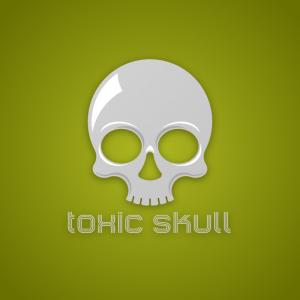 Toxic Skull – Free cranium anatomy logo vector free logo preview