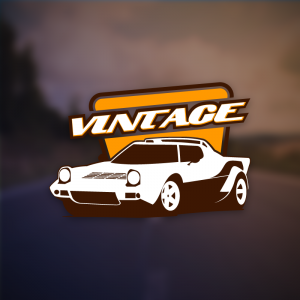 Vintage – Free sports car rally logo vector free logo preview