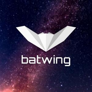 Batwing – Free origami bat animal logo vector free logo preview