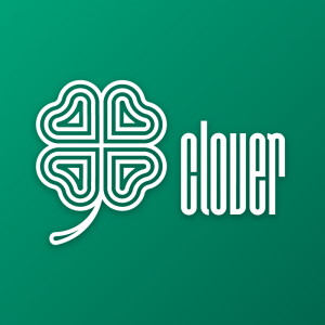 Clover – Free four leaf luck logo download free logo preview