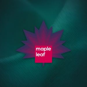 Maple Leaf – Nature plant tree vector logo free logo preview