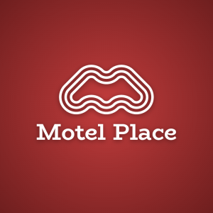 Motel Place – Letter M geometric vector logo free logo preview