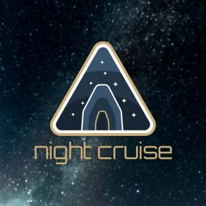 Night Cruise – Free orbit badge vector logo free logo preview