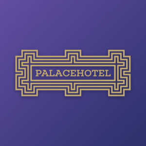 Palacehotel – Free geometric architecture logo free logo preview