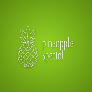 Pineapple Special – Free outline vector logo free logo preview