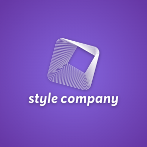 Style Company – Concentric outline logo vector free logo preview