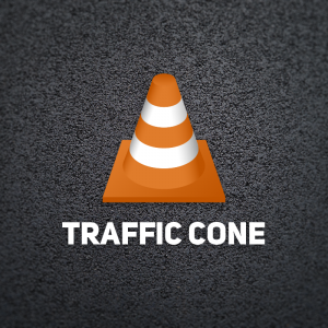 Traffic Cone – Free obstacle logo download free logo preview