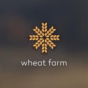 Wheat farm – Free grain seed logo download free logo preview