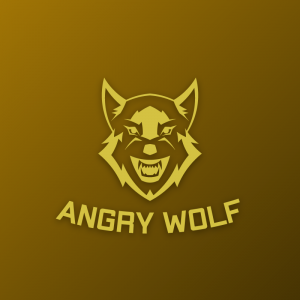 Angry Wolf – Free wolf animal vector logo free logo preview