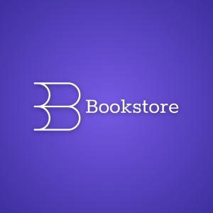 Bookstore – Modern minimal book logo design free logo preview