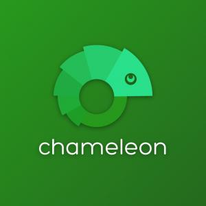 Chameleon – Free animal nature vector logo free logo preview