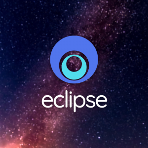 Eclipse – Free geometric logo vector download free logo preview