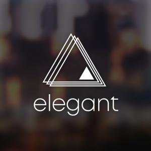 Elegant – Minimal business vector logo design free logo preview