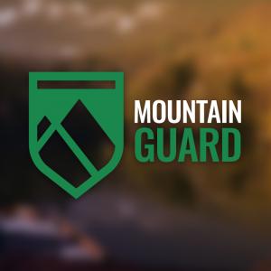 Mountain Guard – Shield ranger modern logo free logo preview