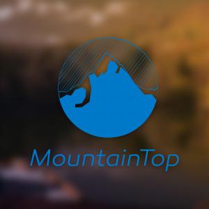 MountainTop – Free vector mountain logo vector free logo preview