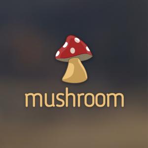 Mushroom – Free plant nature food logo vector free logo preview