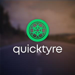 Quicktyre – Car automotive wheel logo vector free logo preview