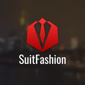 SuitFashion – Suit tie logo geometric vector free logo preview